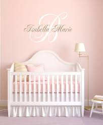 vinyl decal nursery wall art vinyl wall decals name wall decal baby nursery decals nursery name decal monogram decals wa022 on personalized name wall art for nursery with 171 best nursery decals images on pinterest nursery decals kid