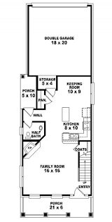 8 best garage designs images on pinterest small houses, house Two Storey House Plan Narrow Lot 653437 2 story traditional narrow lot house plan house plans, floor plans two storey homes plans for narrow lots
