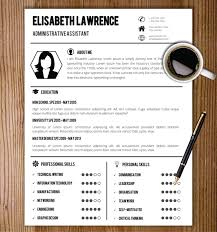 Us Resume Template Adorable Simple Resume Template Resume Template With Photo Cover Letter Cv