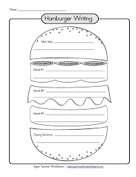hamburger graphic organizer writing paragraph links to a bunch of hamburger graphic organizer writing paragraph links to a bunch of different templates which are great