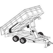 wiring diagram for hydraulic dump trailer the wiring diagram trailer plans from northern tool equipment wiring diagram