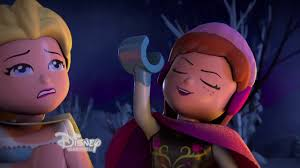 Lego Frozen Northern Lights 2016 Clips Lego Disney Frozen Northern Lights Debuts