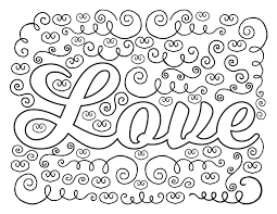 printable love coloring pages kids within page pag and print puppy colori