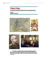 german unification essays studentshare essay on german unification