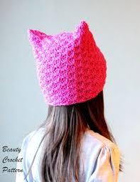 Pussyhat Pattern Mesmerizing Cat Ears Hat Pattern Pussy Hat Pattern Kitten Ear Beanie