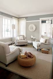 2 tone walls transitional living