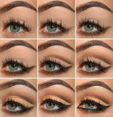 mellow brown cut crease eye makeup tutorial