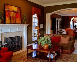 warm living room ideas: warm living room love the colors