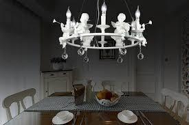 modern art led chandelier led lamps living room resin angel chandeliers crystal chandelier e14 led re