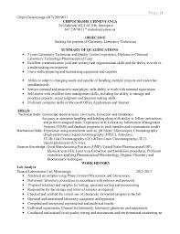 Lab Technician Resume 40 Extraordinary Lab Technician Resume