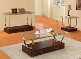 Wooden Coffee Table Designs With Glass Top Photo   12