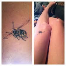 Small Bee Tattoos Bee Tattoo Knee Tattoo Girl Tattoos