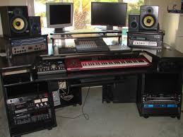 studio desk black s on full size of studio trends 30 desk dimensions omnirax presto 4