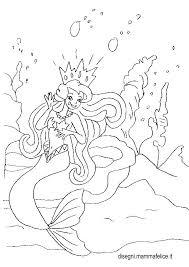 Disegno Da Colorare Sirenetta Disegni Mammafelice