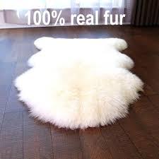 white sheep rug top quality real full pelt new sheepskin rug beige white gy sheep fur white sheep rug double ivory white sheepskin