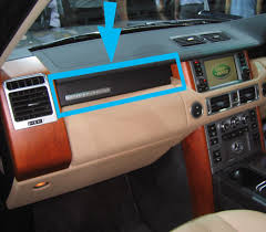 Range Rover L322 Interior dash panel Vavona burr wood veneer Vogue ...