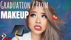 graduation prom makeup tutorial marcella febrianne