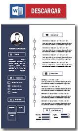 Formatos De Curriculum Vitae En Word Gratis Plantilla Curriculum Vitae Gratis Ejemplo Cv Hacer Un