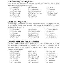Cover Letter Phrases Cover Letter Key Words Best Ideas Of Resume