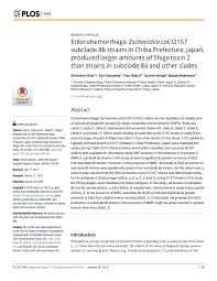 Emerging Pdf Escherichia Coli Of Human Characteristics pathogenic FnPgHwpq