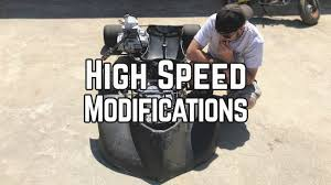 Shifter Kart Speed Mods Diy Alignment Gearing Aero