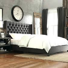 elegant upholstered bedroom ideas grey headboard best bed images on gray dark gray headboard bedroom