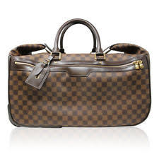 louis vuitton overnight bag. louis vuitton damier ebene eole 50 rolling luggage bag overnight g