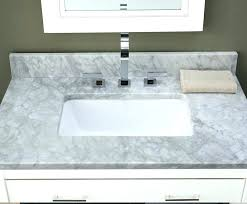 37 inch bathroom vanity top inch bathroom vanity white marble top with rectangular cutout ch white 37 inch bathroom vanity top
