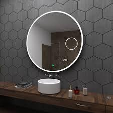 Badspiegel Rund Mit Licht