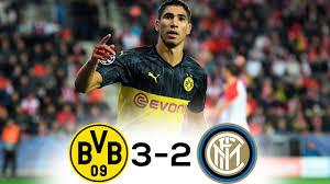 Borussia Dortmund-Inter 3-2 highlights e gol: nerazzurri ...
