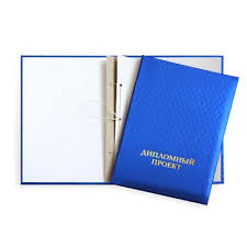 Папка адресная ДИПЛОМНЫЙ ПРОЕКТ А полипропилен отв шнур синяя  Папка адресная ДИПЛОМНЫЙ ПРОЕКТ А4 полипропилен 3 отв шнур синяя