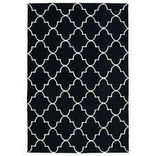 escape black 9 ft x 12 ft indoor outdoor area rug