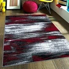 red and black rug grey area white rugby socks rugs