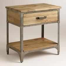 cool world market dresser 25 skinny bedside table nightstand set of 2 nightstands dressers