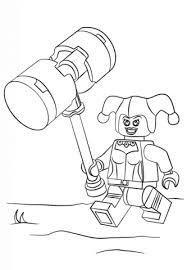 Disegno Di Lego Harley Quinn Da Colorare Disegni Da Colorare E