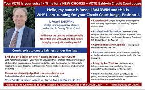 Baldwin for Judge - Home | Facebook
