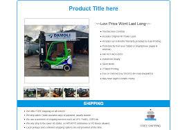 Listing Template Mobile Responsive Ebay Html Listing Template Robi Shop Blueprint