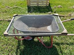 the old manual compost sifter this is how we used to sift compost