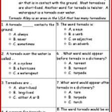 3rd Grade Reading Comprehension Worksheets Multiple Choice ...3rd Grade Reading Comprehension Worksheets Multiple Choice