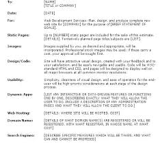 Website Proposal Template Interesting Web Design Proposal Sample Template Web Design Proposal Sample