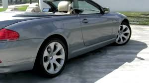 Coupe Series bmw 645 convertible : 2005 BMW 645Ci Convertible - YouTube