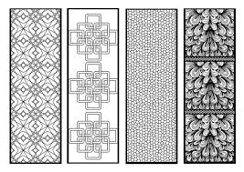 Download these free printable bookmarks for kids and adults alike. Free Printable Bookmarks For Adult Colouring Hodgepodgedays
