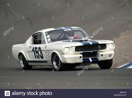 A 1965 Shelby GT350 at a vintage racing event Stock Photo, Royalty ...