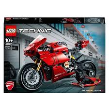 <b>LEGO</b> 42107 <b>Technic Ducati Panigale</b> V4 R Motorbike Model ...