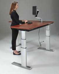 adjustable standing desk office. Stand Up Desk Office Chair Corner Height Adjustable Standing Sit Furniture Lachouchou.me