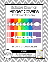 Free Editable Binder Covers And Spines Blog Hoppin Free Binder Covers For Color Coding Or