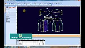 Cad Cam Computer Pattern Designing Optitex V11 3d Cad Cam Pattern Fashion Design Youtube