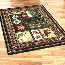cabin area rugs cabin area rugs chalet rectangle rug multi warm themed lodge style bathroom boardwalk