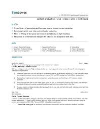 Project Manager Sample Resume Construction Objective Statements
