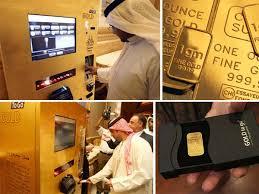 Gold Bar Vending Machine Mesmerizing Gold Bar ATM WTF